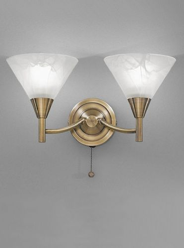 Franklite FL2251/2 Bronze Wall Light